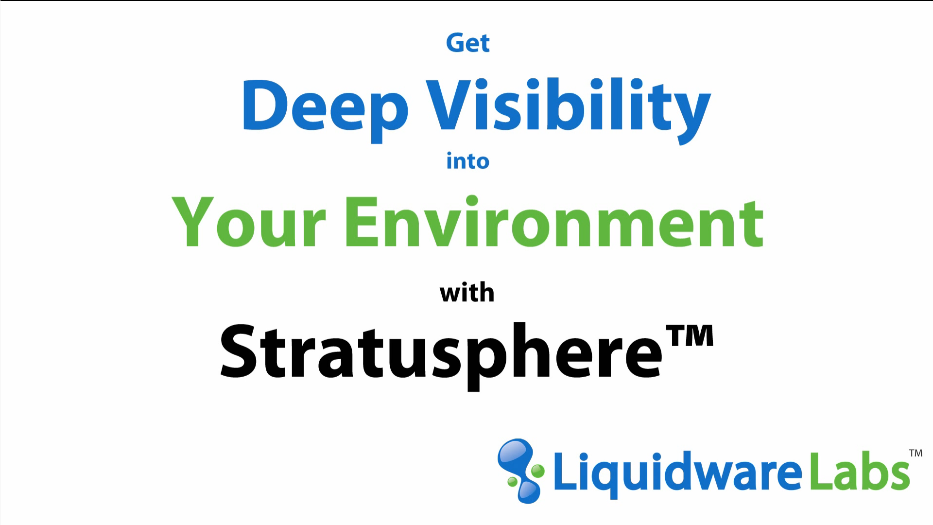 Get Deep Visibility Into Your Environment with Stratusphere